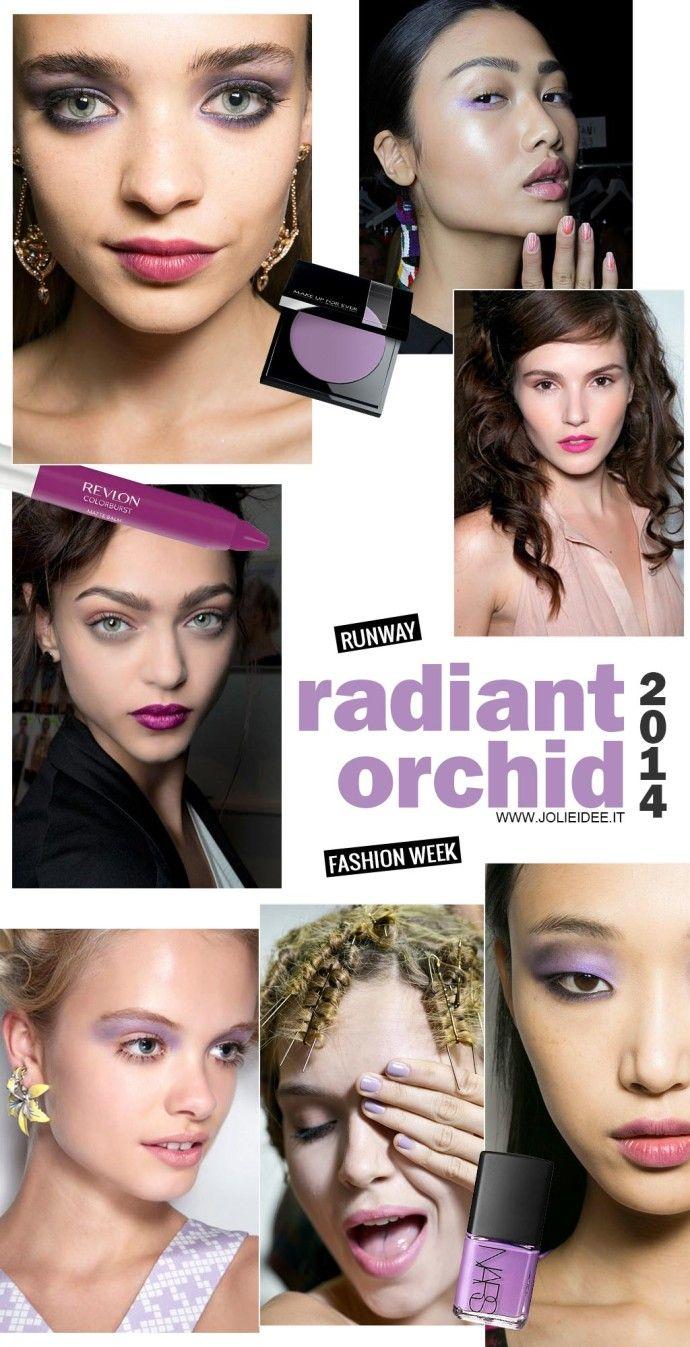 Radiant Orchid - La Fashion Week del colore dell'anno #fashionweek #radiantorchid