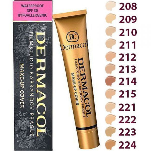 Dermacol® Base Make up Cover 30g Original covers everything
