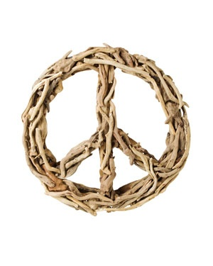 SugarBoo Designs Small Driftwood Peace Sign                                    $150.00  $99.90