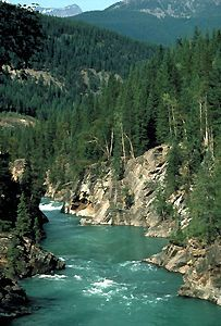 Fraser Canyon, BC, Canada  So many drives alongside the Fraser River...
