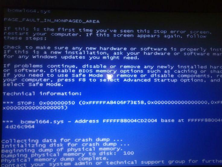 Pantallas Azul en tu computadora ?. Estas aparecen debido a un error de hardware como es la memoria ram o software por algún Virus o falla en el sistema operativo.  www.LimpioTuCompu.com