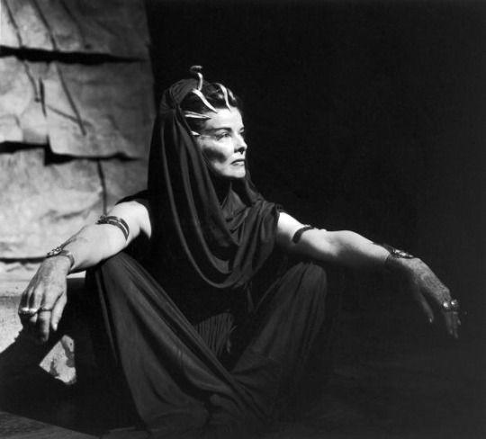 Katharine in Antony and Cleopatra, 1960.