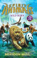Spirit Animals Book 1: Wild Born  by Brandon Mull. Four children separated by vast distances all undergo the same ritual, watched by cloaked strangers. Four flashes of light erupt, and from them emerge the unmistakable shapes of incredible beasts - a wolf, a leopard, a panda, a falcon. Suddenly the paths of these children - and the world - have been changed forever.