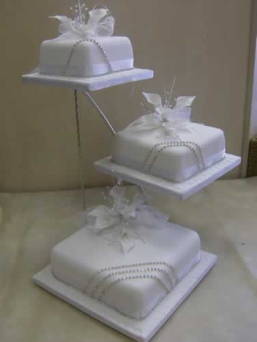 3 tier square wedding cake stands 1000 images about cakes on simple weddings 10265