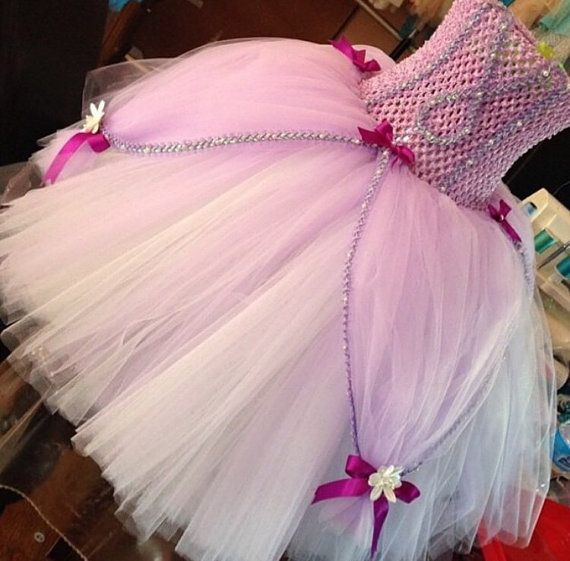 Hey, I found this really awesome Etsy listing at https://www.etsy.com/listing/218819035/sofia-the-first-tutu-dress