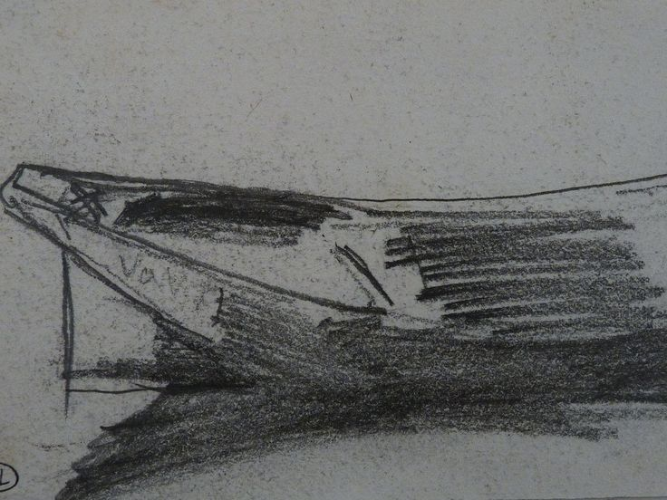 """MANET Edouard - La Barque (drawing, dessin, disegno-Louvre RF30557) - Detail 1   -   TAGS / drawing dessins dessin disegno personnage figure figures people personnes art painter peintre peintre details détail détails detalles 19th 19e """"dessins 19e"""" """"19th-century drawing"""" """"19th century"""" """"details of drawing"""" """"details of drawing"""" croquis étude study sketch sketches """"Édouard Manet"""" Édouard Manet Louvre Barque bark barge rowboat"""