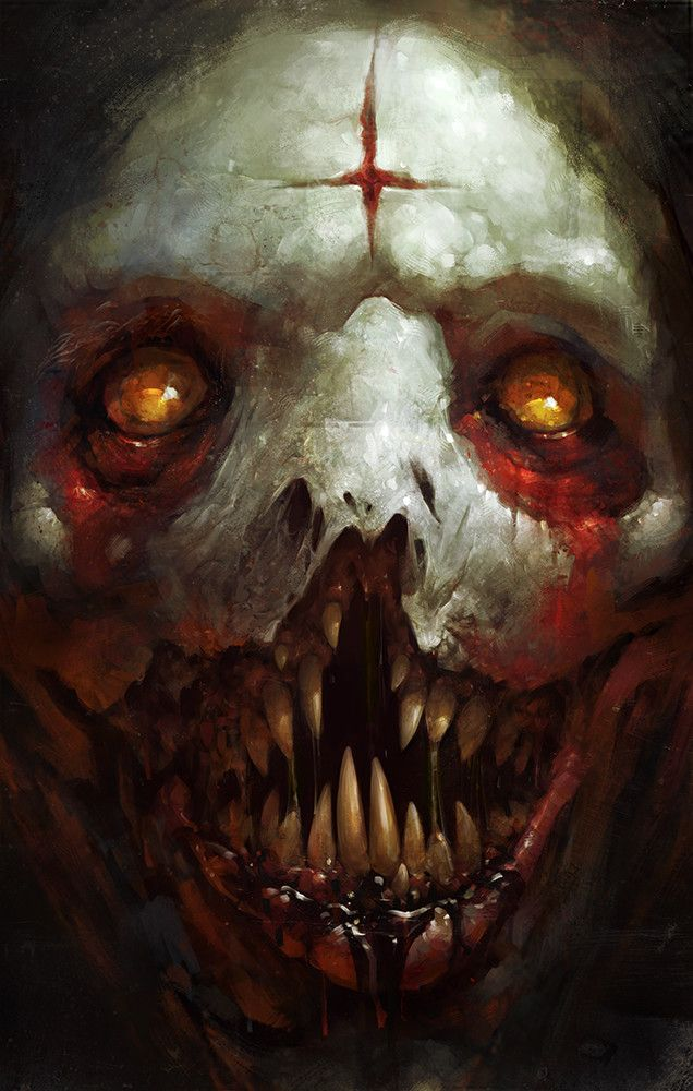 Demon, Blaz Porenta on ArtStation at https://www.artstation.com/artwork/5O0oJ