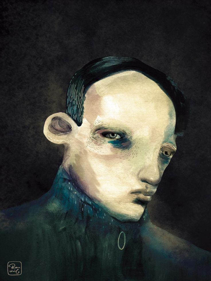 Negra sombra  Retrato por Bran Sólo