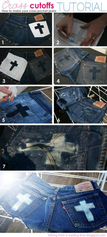 17 Best Images About Painted Jeans On Pinterest Denim