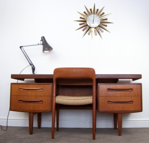 Love everything about this G Plan Fresco Teak Desk