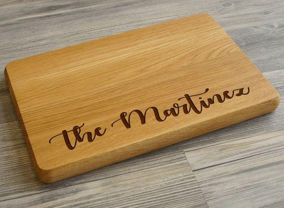 Custom Cutting Board, Personalized Cutting board, Wedding gift, Chopping Board, Bridal Gift, Wedding Cutting Board, Monogram Cutting Board