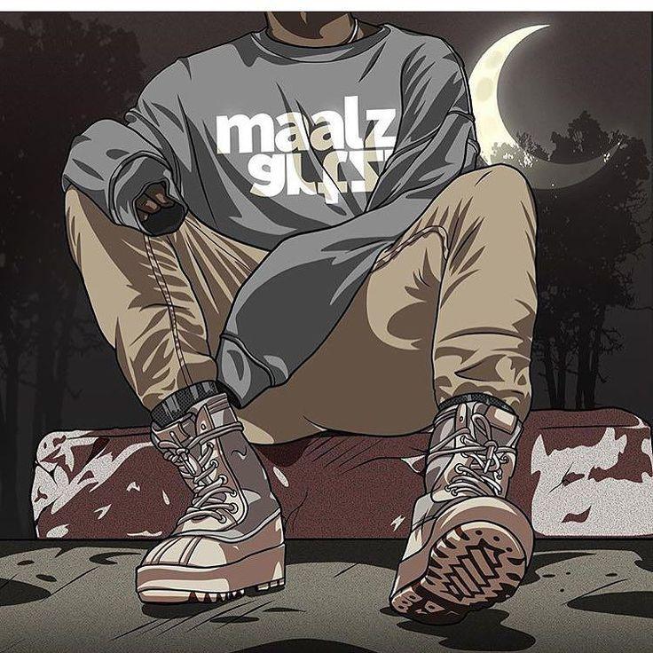 #sneakerart #artist @maalzartzTrillish Art ST