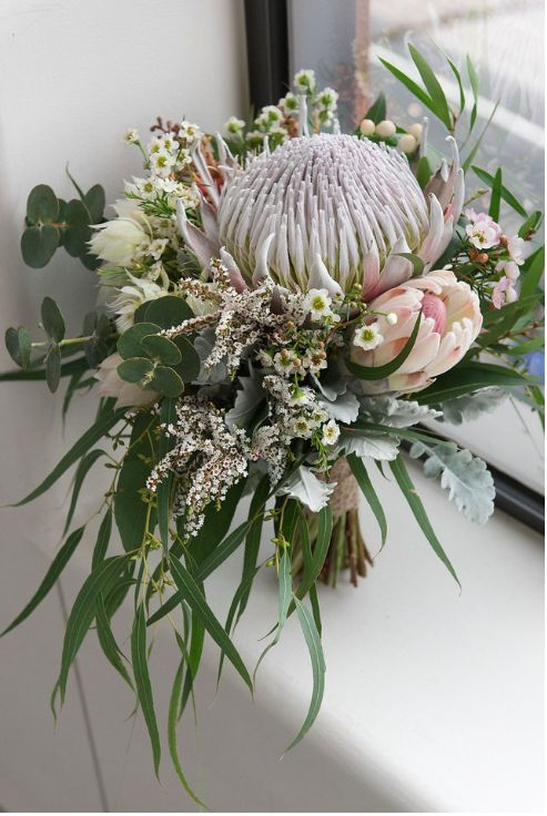 Naomi Rose Floral Design | Native bouquet | Native wedding | Winter wedding | So…