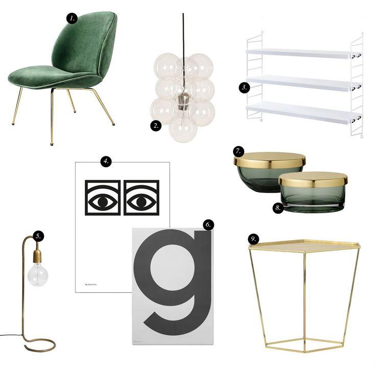 Interior collage / Interior Montage / Designonline / Sannas Rum / Creative