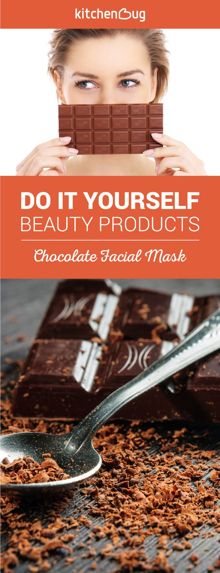 Chooclate does more than just taste delicious. This DIY chocolate facial mask is great for your skin, easy to do, and all natural!