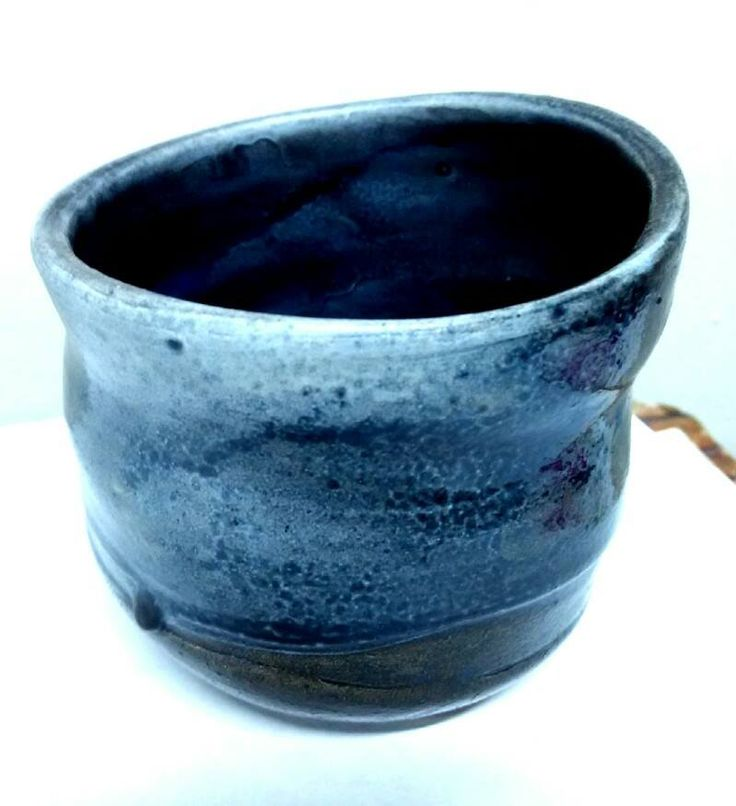 geoffrey tjakra, multiple glaze fired cup. Fired to approx.1100 degree celcius