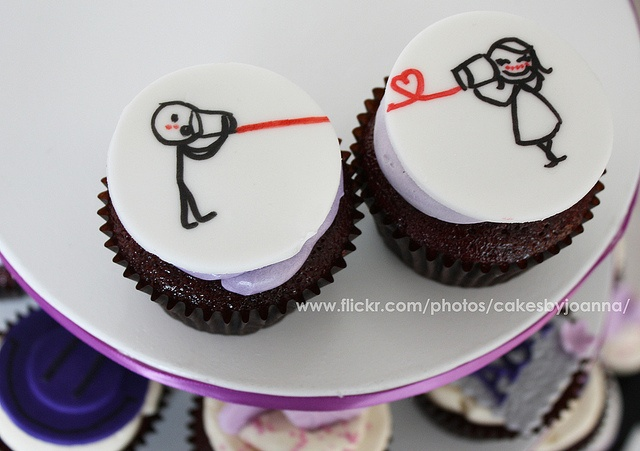 Love Cupcakes   By TheCakingGirl via Flickr