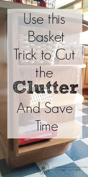 By using my easy tip you will not only cut back on clutter but save yourself time and stress looking for lost items!
