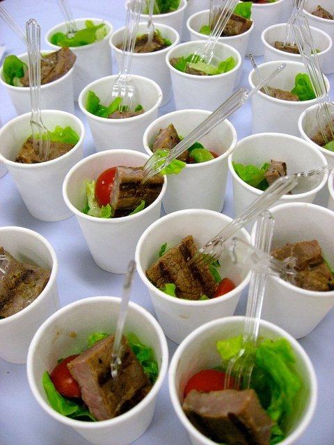 Steak and salad in Sydney  Possum Magic Party