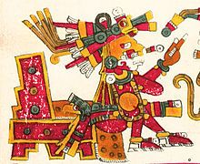 Xochipilli  was the god of art, games, beauty, dance, flowers, and song in Aztec mythology.Protector of male prostitutes and homosexuals.
