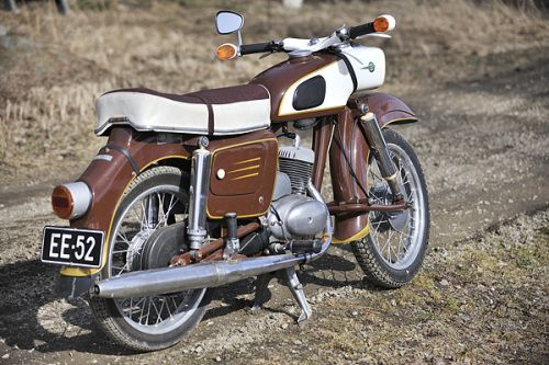 mz es 125 baujahr 1963 east bloc motorcycles are. Black Bedroom Furniture Sets. Home Design Ideas