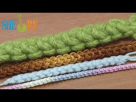 Romanian Point Lace Basic Cord Crochet Tutorial 47 Romanian Macrame Cord - YouTube