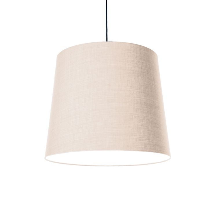 KongFAB acoustic textile pendant with Remix 2 from Kvadrat - light beige 113