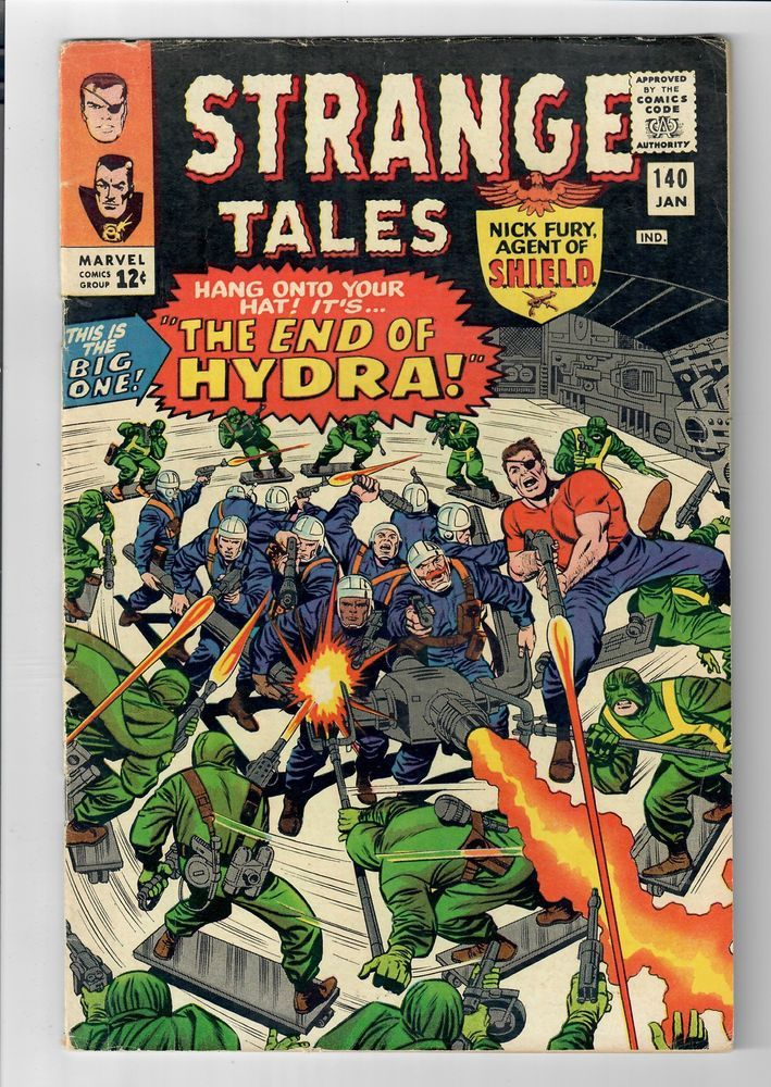 STRANGE TALES #140 – Grade 6.0 – Silver Age Nick Fury & Doctor Strange  http://www.ebay.com/itm/STRANGE-TALES-140-Grade-6-0-Silver-Age-Nick-Fury-Doctor-Strange-/291784937657?roken=cUgayN&soutkn=xIelds