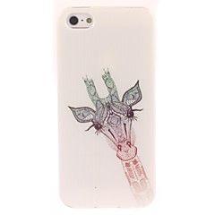nydelig giraff utforming myk sak for iPhone 4 / 4S