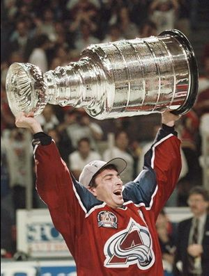 Joe Sakic 1996 and the FIRST Pro Team Championship for Colorado