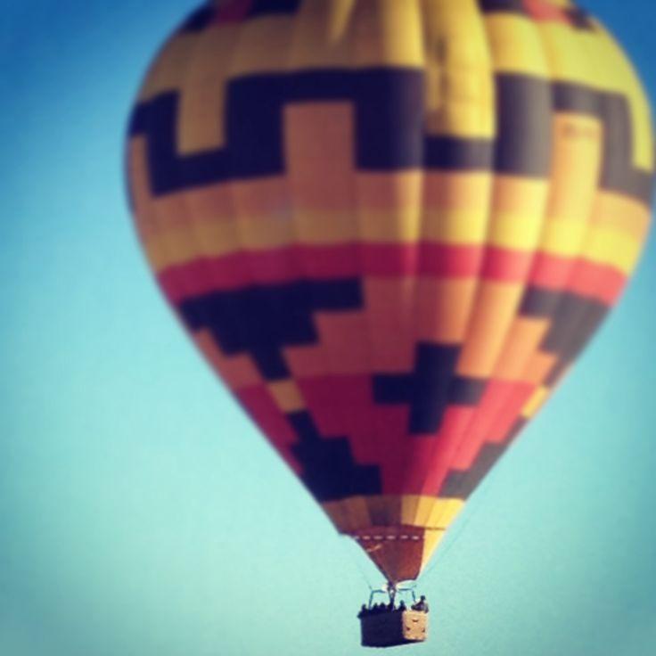 Hot air balloon. Big and bold.
