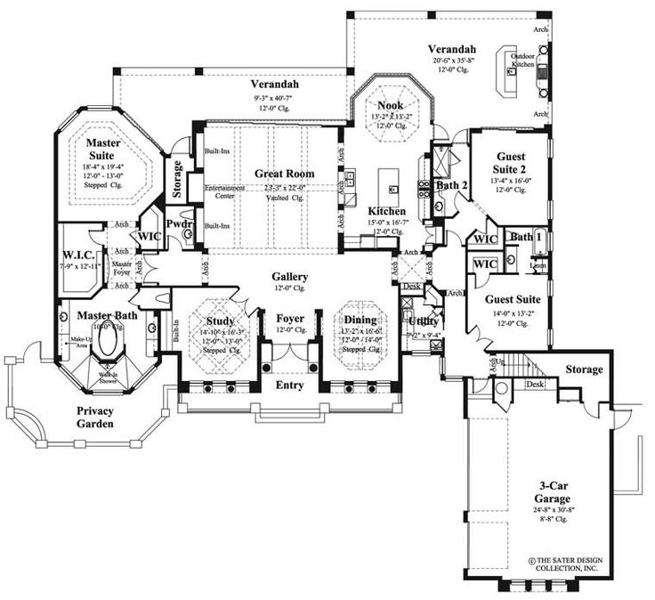 Mediterranean Luxury Floor Plans: 1000+ Ideas About Mediterranean Homes Plans On Pinterest