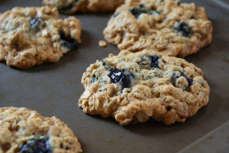 Blueberry Protein cookies