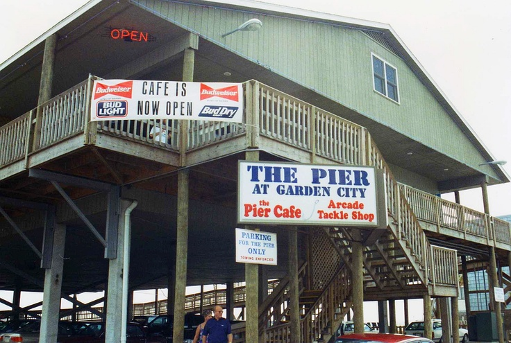 The Pier at Garden City Beach, SC, USA. I've been here so many times I can't even count!