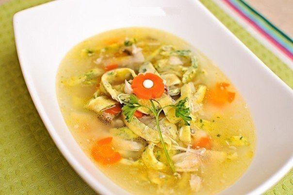 Итальянский суп из курицы | Кулинарные Рецепты