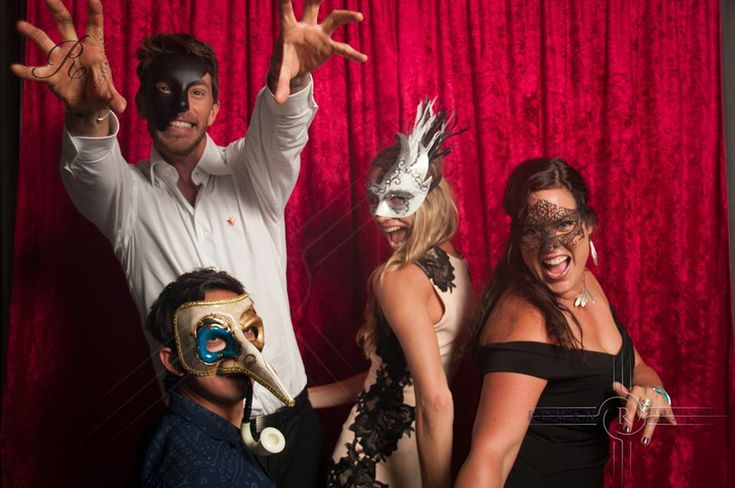 We provide the masks with our Studio photo booth