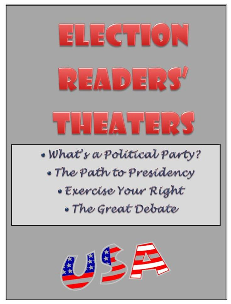 Collaborative Learning Classroom Activities : Election unit readers theater and