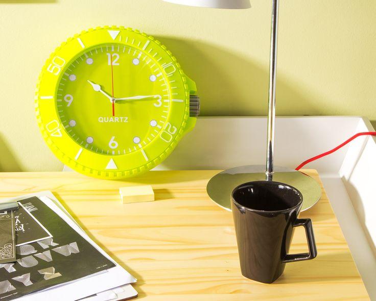 Relógio de Parede Colorix - Verde