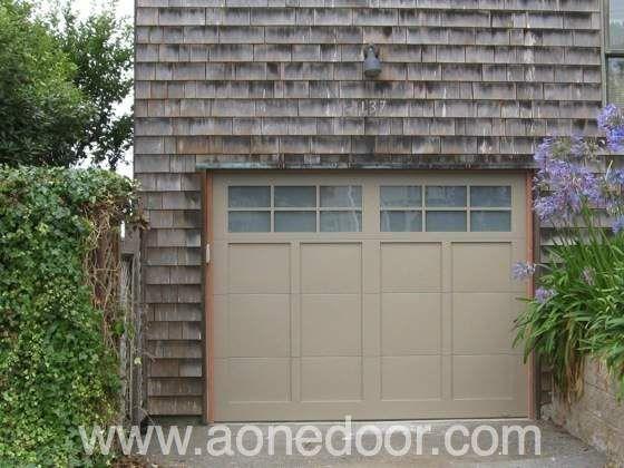 Roll Up Garage Door With Glass By A 1 Overhead Door Company In Santa