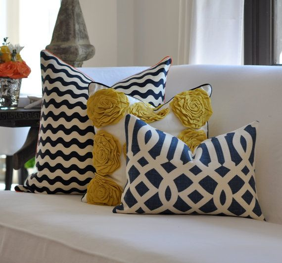 Love these pillows from http://www.etsy.com/listing/77838112/schumacher-kelly-wearstler-imperial