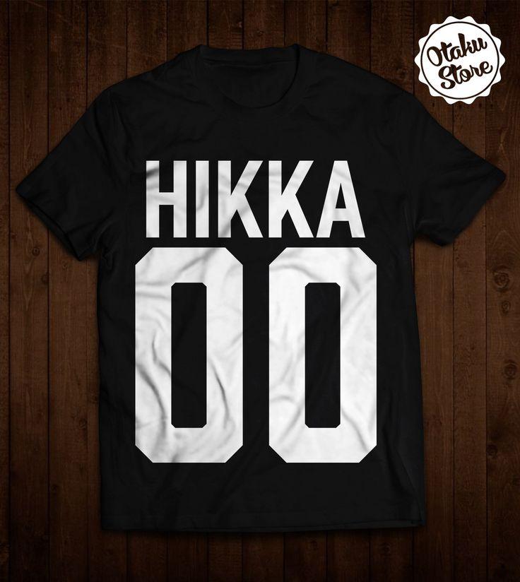 "Anime ""Hikka"" t-shirt. Anime DTG print."