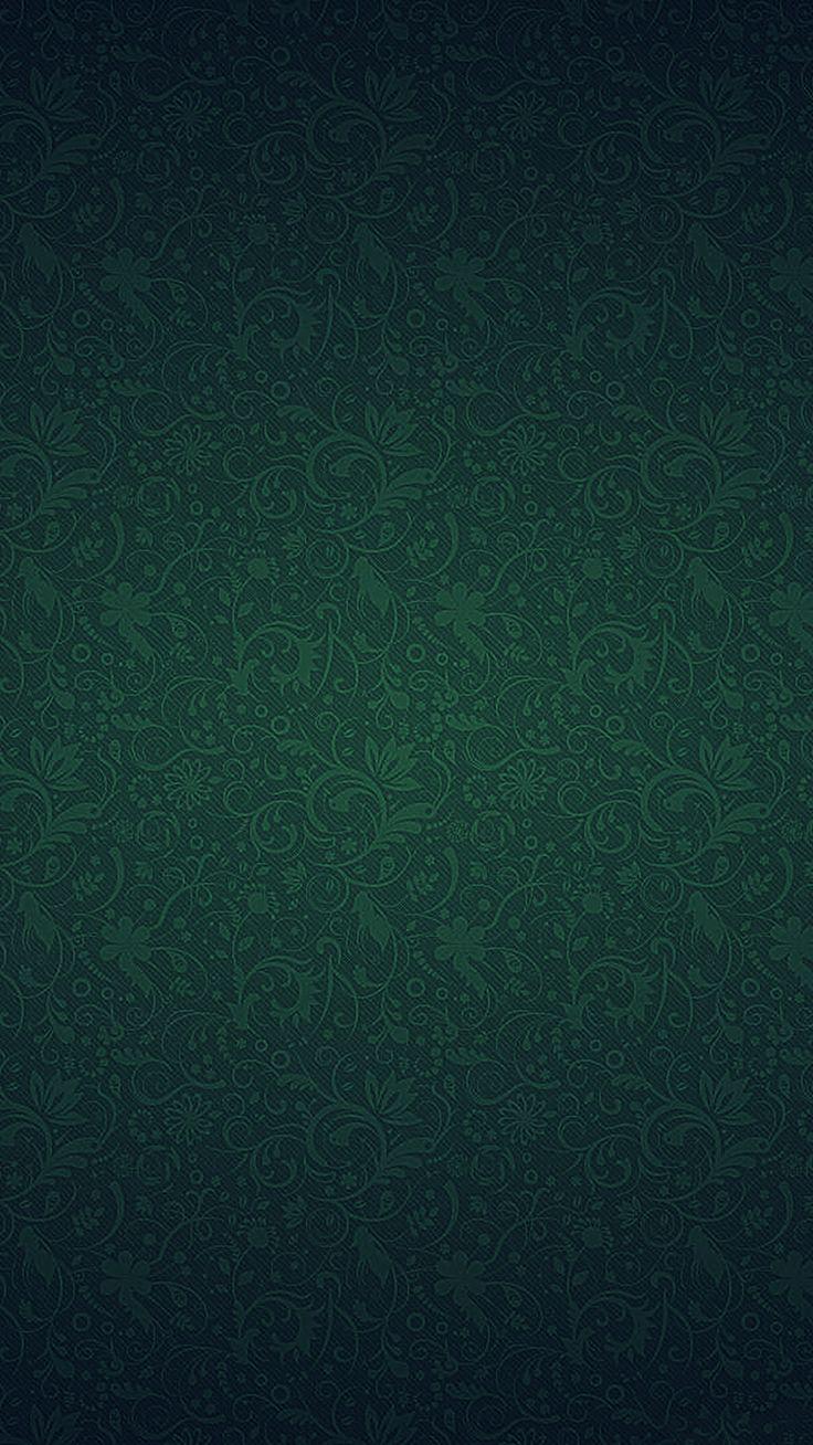 Green Ornament Texture Pattern #iPhone #7 #wallpaper