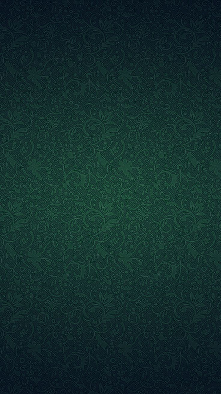 Green Ornament Texture Pattern #iPhone #6 #plus #wallpaper
