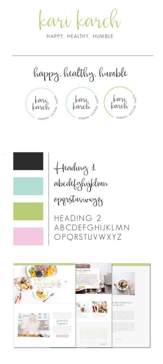 Health. Colorful. Vibrant. Blog. Healthy. Food. Nutrition. Vegan. Paleo. Recipes. Kari Karch. Organic. Logo design. Branding. Web design. Website. Showit 5. Created by Alisabeth Designs.
