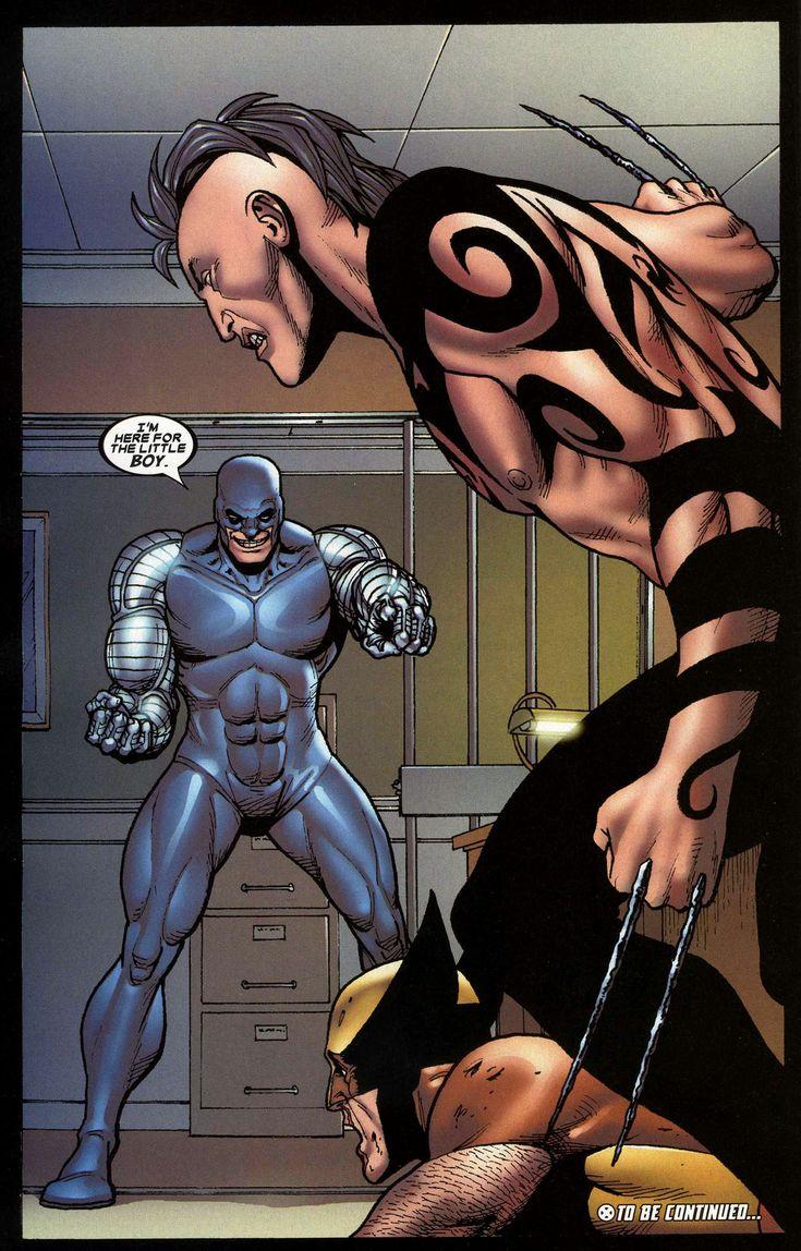 Cyber in Wolverine: Origins vol 1 #13 | Art by Steve Dillon