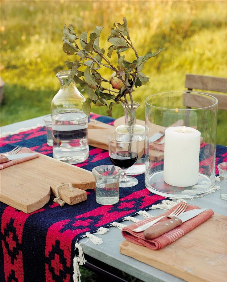 Host a cool-weather cookout with fall recipes, seasonal décor and more