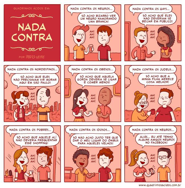 #48 - Nada contra | Quadrinhos Ácidos
