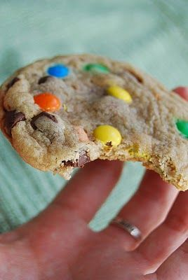 Alton Brown's The Chewy cookie recipe, used with any mix-ins. yes please!