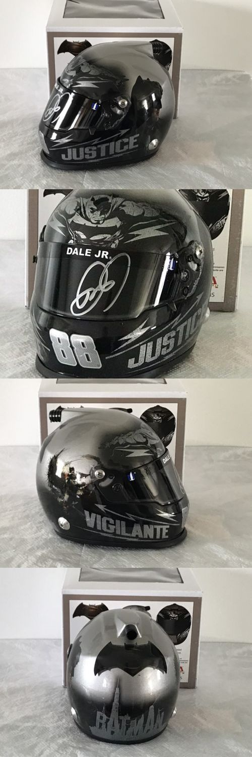 Sport and Touring Cars 180272: Dale Earnhardt Jr Signed 2016 Batman Nascar Sprint Cup 1:3 Mini Helmet!!!!!! -> BUY IT NOW ONLY: $99.99 on eBay!