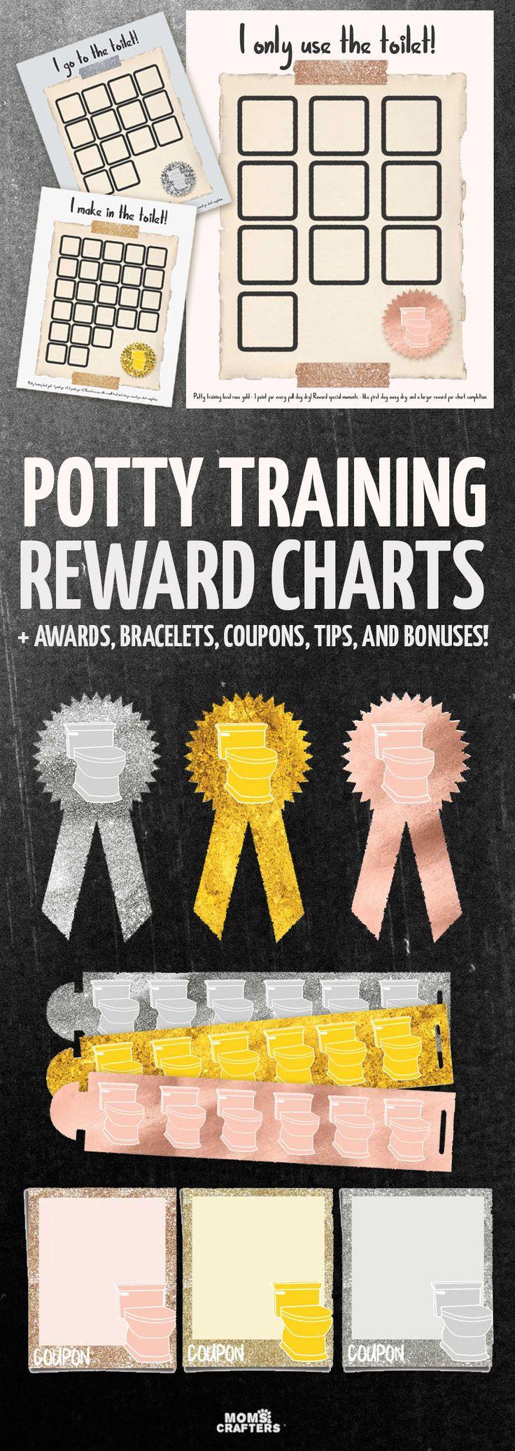 bedste id eacute er til printable potty chart p aring  grab these potty training reward charts